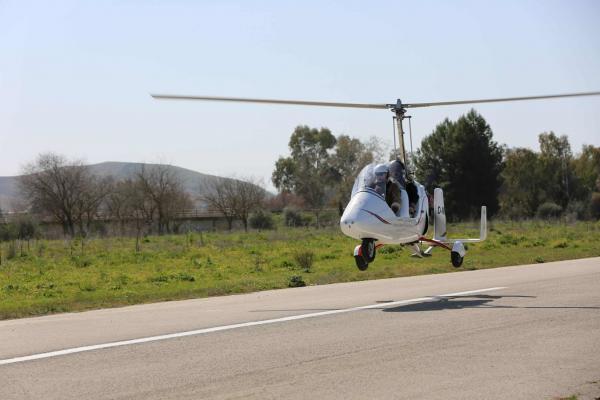 Gyrocopter Tieflug Spanien
