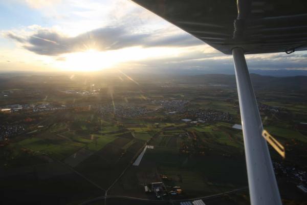 Kaiserstuhl Rundflug mit dem Ultraleicht Flugzeug