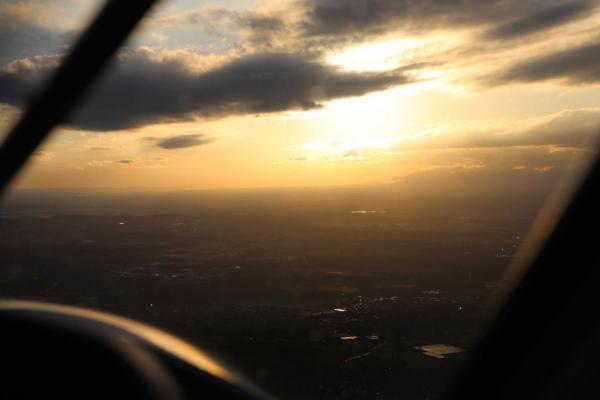 Rundflug im Rheintal mit dem Flugzeug